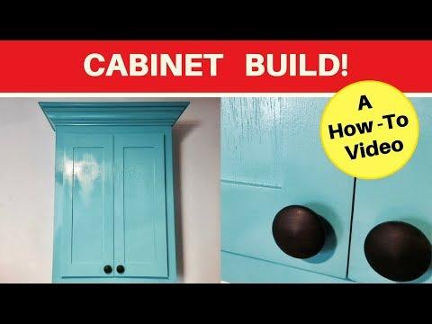 Indoor storage cabinet - Medicine Cabinet  - Shaker inspired - diy