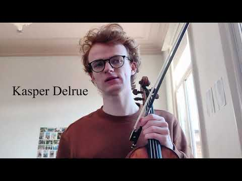 Jong Talent - Young Talent 2021: Kasper Delrue (viool)