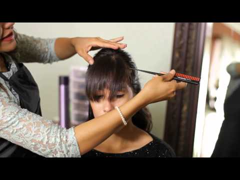 How To Fix Overly Thick Bangs Tress To Impress