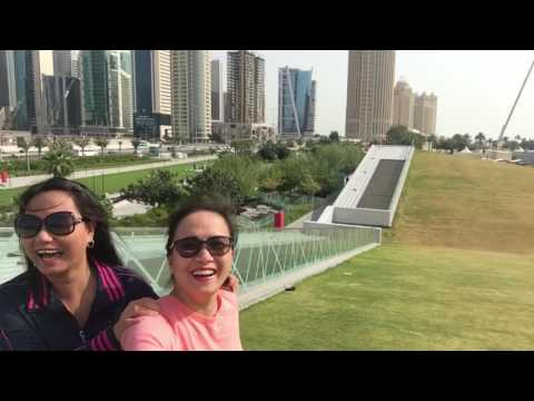 Shereton Qatar! Just enjoying the view!