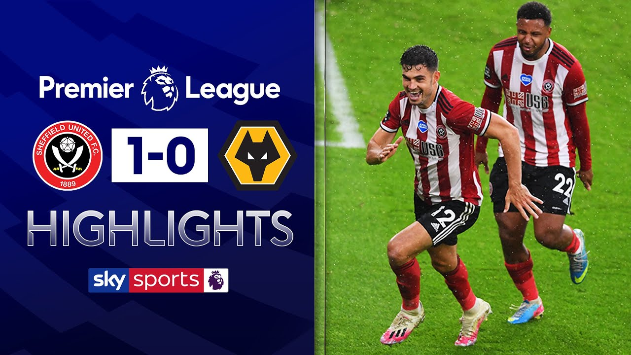 John Egan scores 93rd minute winner! | Sheffield United 1-0 Wolves | EPL Highlights