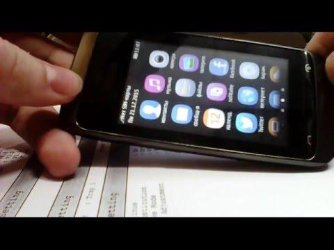 Nokia Asha 202 - YouTube