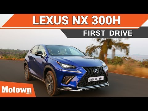 Lexus NX 300h | First Drive | 0-100kmph Acceleration Test in all Modes