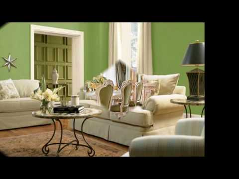 Оттенки зеленого цвета в интерьере