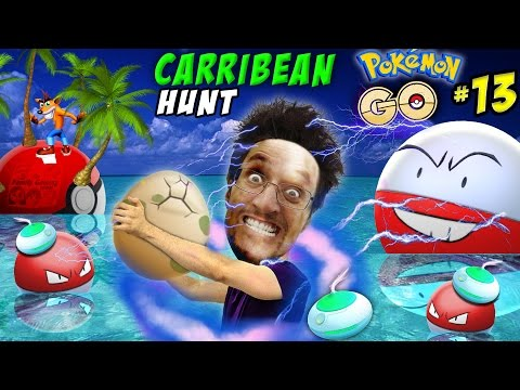 ELECTRIC OCEAN! Pokemon Go Caribbean Trespass Adventure! Incense & 10k Egg (FGTEEV Pt 13 PUNTA CANA)