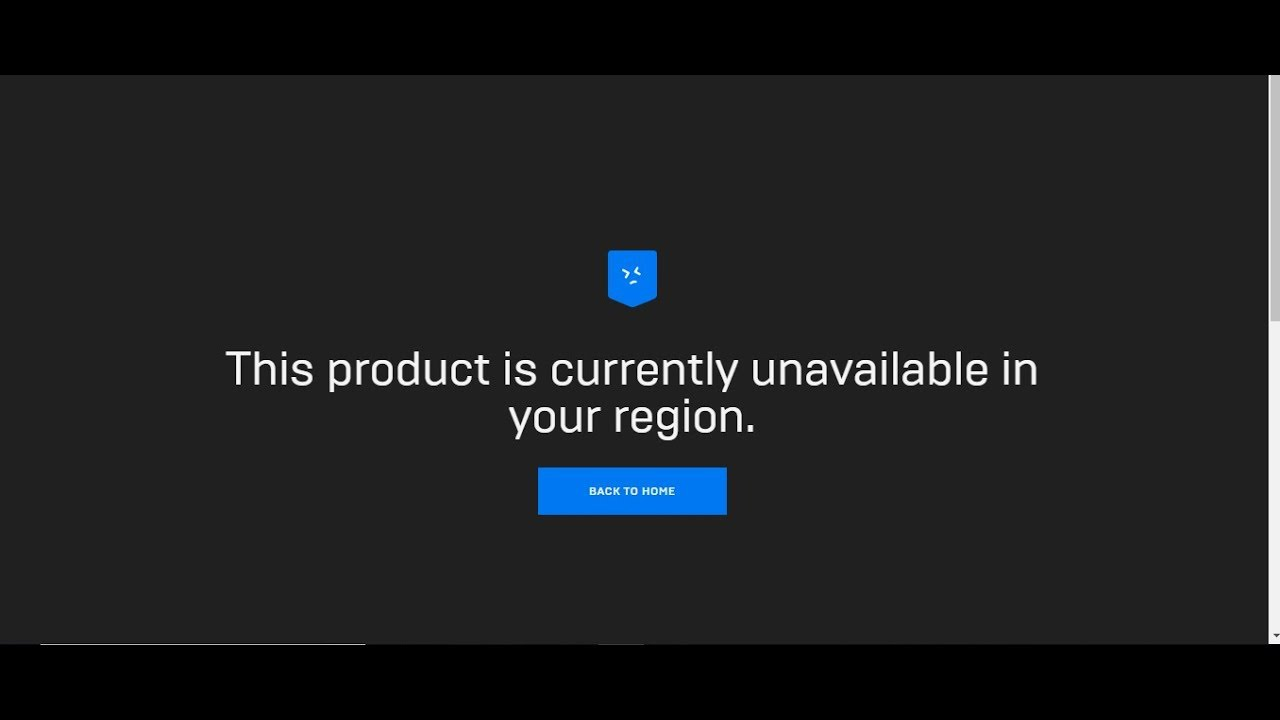 pix Currently Not Available epicgames this product is currently unavailable in your region fixed 2019