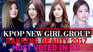 Kpop New Girl Group Most Beautiful Members 2017 - Most Voted In U.S