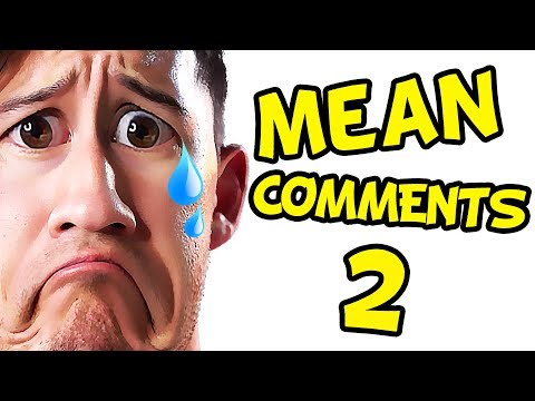 Markiplier Reacts to Mean Comments AGAIN