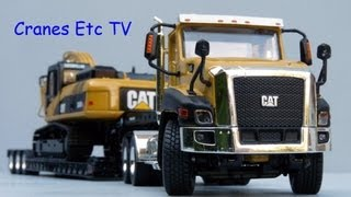Norscot Caterpillar CT660 Day Cab and Trailer by Cranes Etc TV