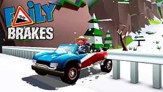 Смотреть МАШИНКИ БЕЗ ТОРМОЗОВ Faily Brakes ГОНКИ с горы Игровой мультик про машинки веселое Видео для детей 4 онлайн