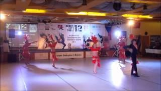 TŠ HOLOS - MČR Liberec 2012 - Latino show junioři - Karneval v Riu