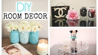 Diy Mason Jar Room Decor! Cute & Affordable