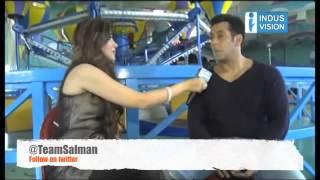 Salman Khan Interview set of Jai Ho