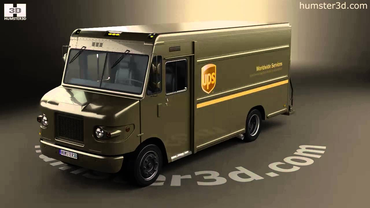 International 1552sc P70 Ups Truck 2017 Model By Humster