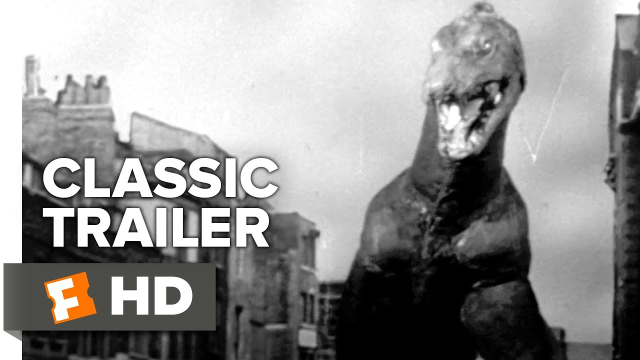 The Giant Behemoth (1959) Official Trailer - Gene Evans Movie