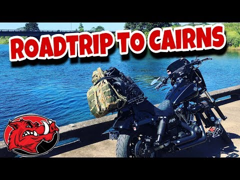 2 DAY ROAD TRIP TO CAIRNS On My Dyna Wideglide Harley Davidson
