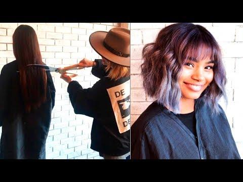 New Haircuts & Hairstyles Inspire Videos   Hair Transformation   Cutting Long Hair