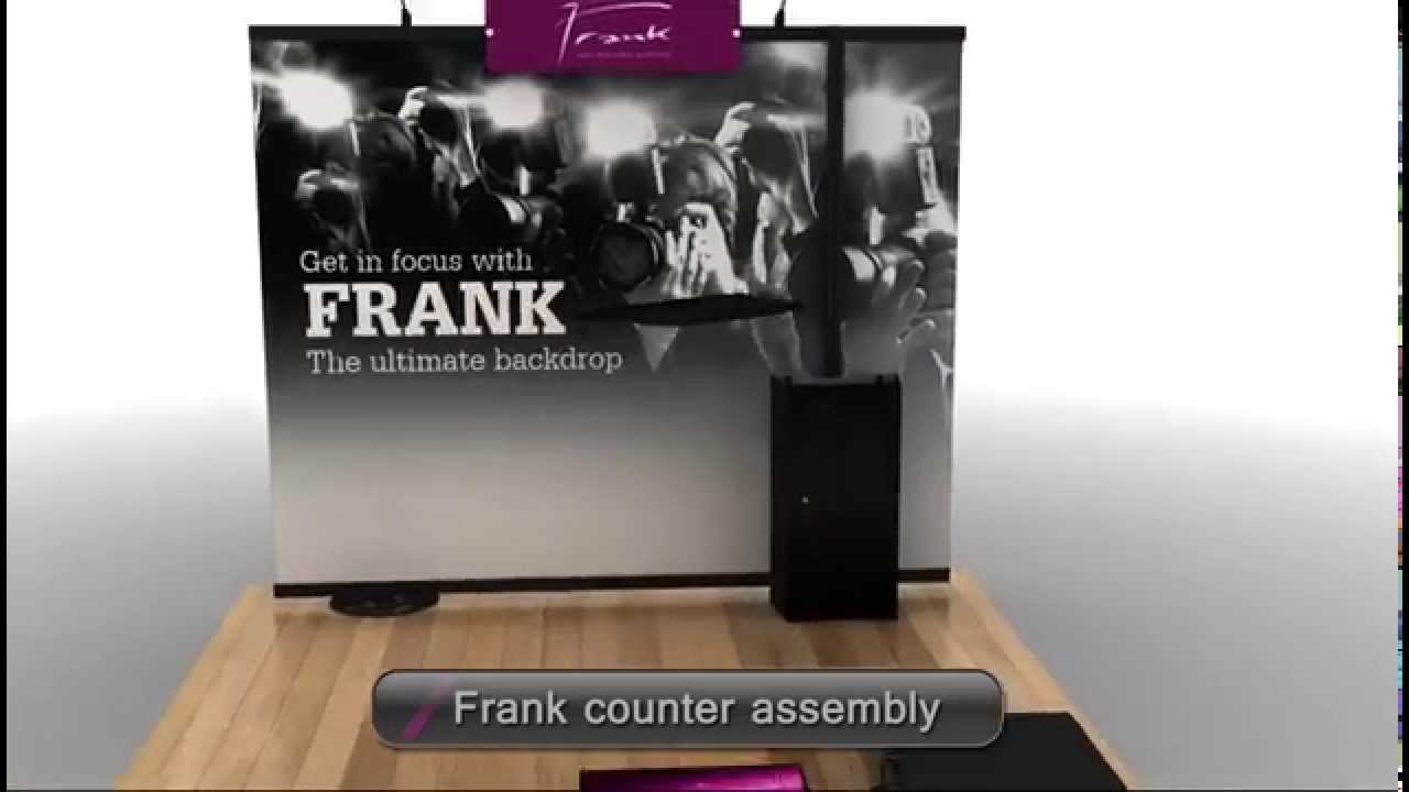 Display Stand For Exhibition : Frank portable display stand for brand activation exhibition
