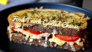 Ooey Gooey Grilled Cheese With Bacon Onion Jam