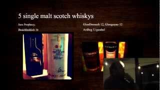 Whisky Montréal: Dégustation no.2