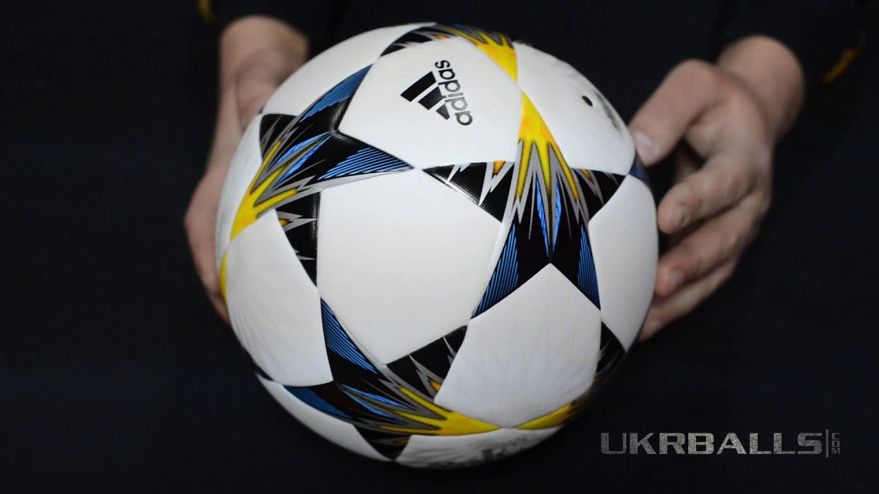 Футбольный мяч Adidas Finale Kiev 2018 Top Training CF1204 - YouTube 97fd3be0d959e