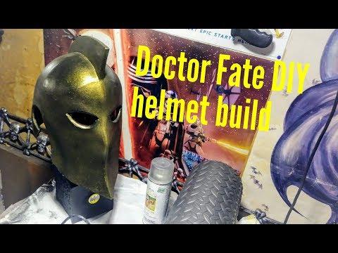 Doctor Fate Helmet of Nabu DIY cosplay build