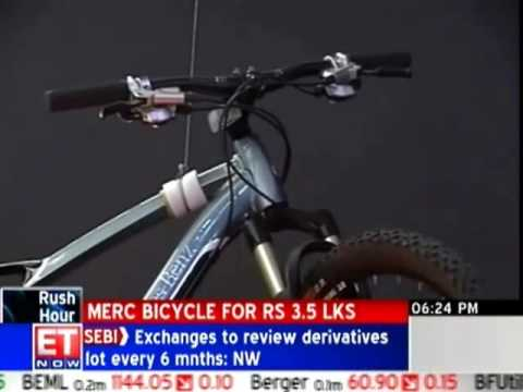 Mercedes launches Rs 3 5 lakh bicycle at Auto Expo