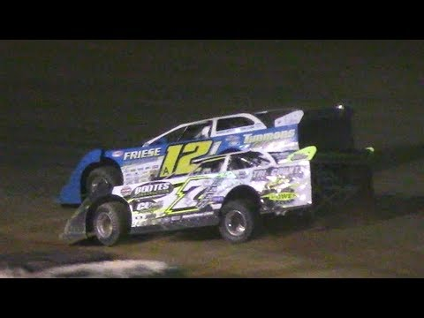 ULMS Super Late Model B-Main Two | Hesston Speedway | 7-1-17