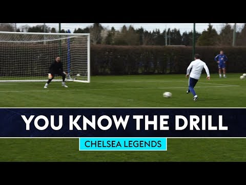 The ULTIMATE Finishing Challenge ⚡   Chelsea Legends   You Know The Drill