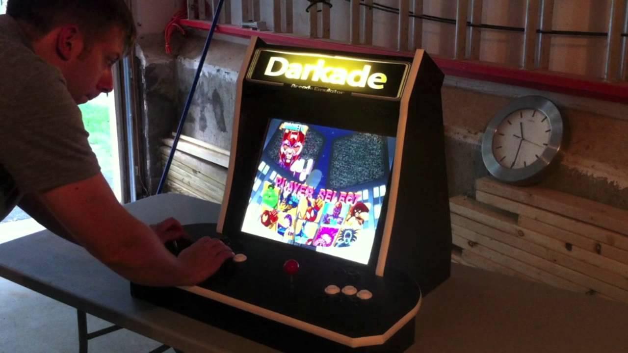 Darkade - Mame/Nintendo Arcade Cabinet - YouTube
