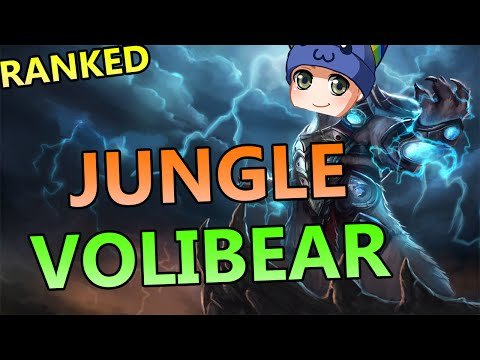 Tank Volibear Jungle - Full Ranked Gameplay Commentary