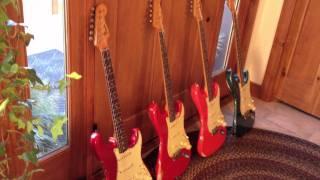 PRE CBS Custom Color Fender Strat Review 1962 63,65 www.eddievegas.com Eddie Vegas