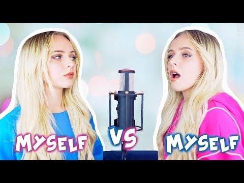 Top Hits of 2019 in 4 Minutes (SING OFF vs. MYSELF) - Madilyn