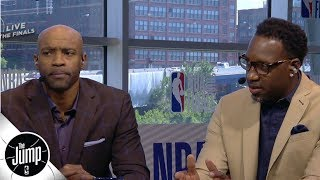 Vince Carter, Tracy McGrady choose which all-time greats they would play with | The Jump | ESPN