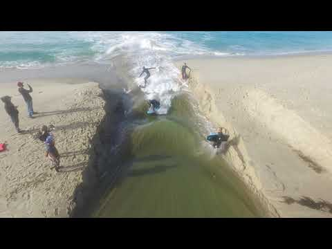 surfing Aliso Creek