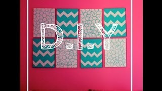 Diy: Headboard/wall Art