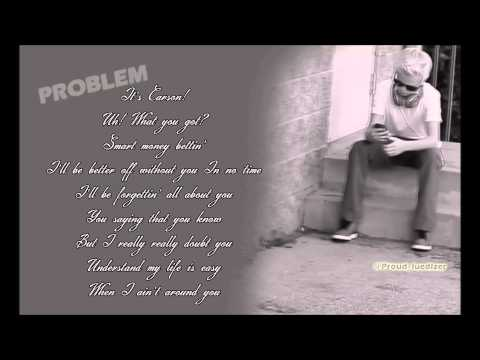 "Ariana Grande ""Problem"" (Carson Lueders Cover) LYRICS"