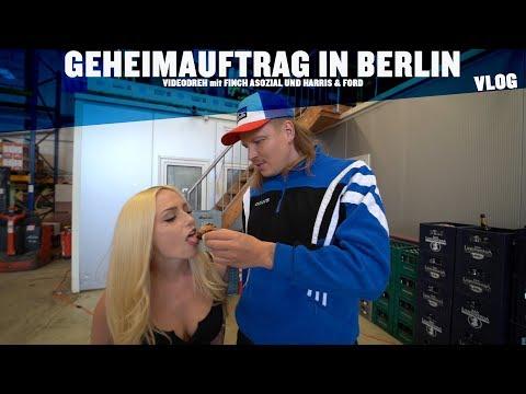 """GEHEIMAUFTRAG IN BERLIN VLOG  - """"FREITAG , SAMSTAG"""" mit FINCH ASOZIAL & HARRIS UND FORD"""