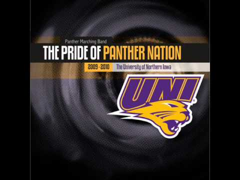 """Northern Iowa Panther Marching Band """"Pregame Finale"""" - YouTube"""