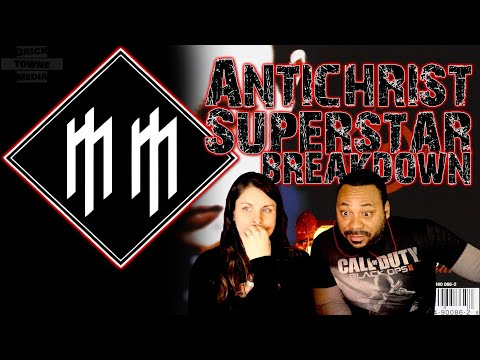Christians react MARILYN MANSON Antichrist Superstar Reaction!!!