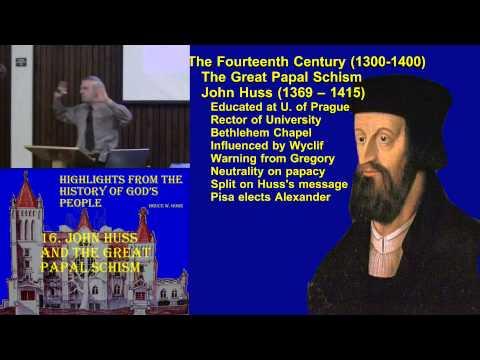 16. John Huss and the Papal Schism