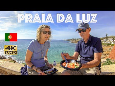 PRAIA DA LUZ PORTUGAL 2020 - Walking Tour Of Luz The Algarve