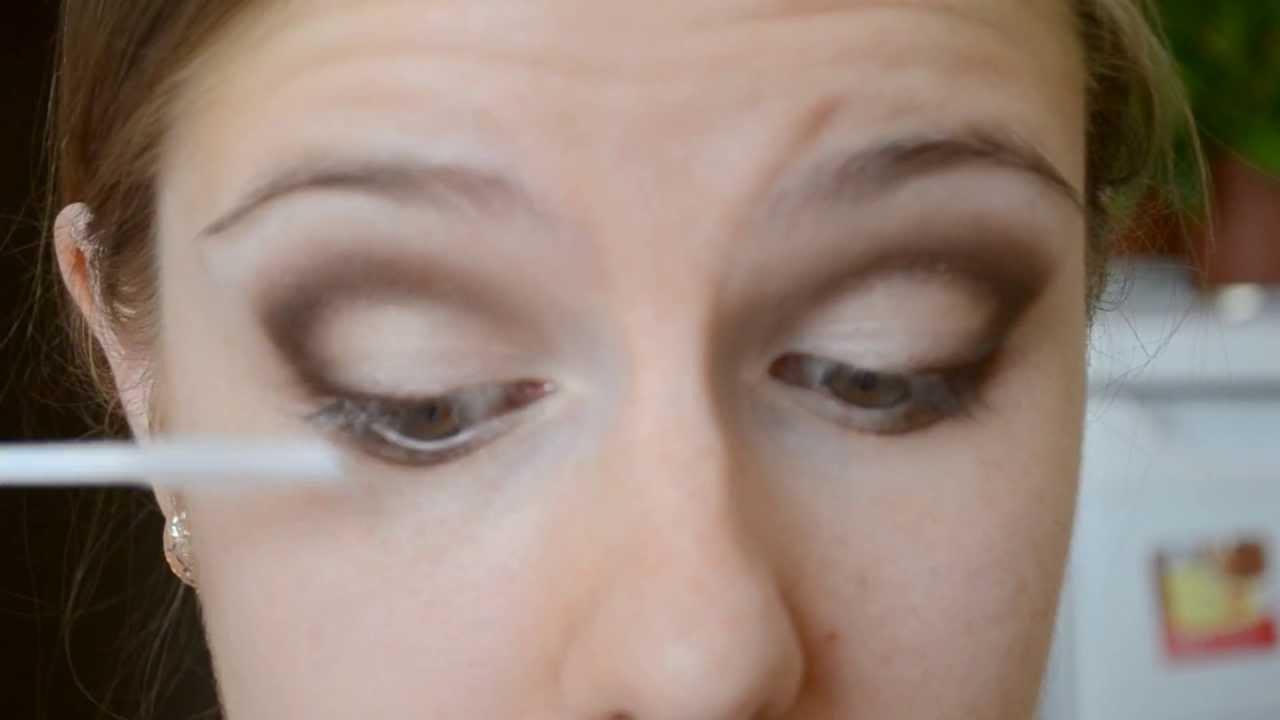 макияж для нависшего века паллеткой