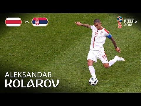 Aleksandar KOLAROV Goal - Costa Rica v Serbia - MATCH 10