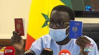 Diplomatie : Amadou Bâ dévoile les  prochaines couleurs des passeports