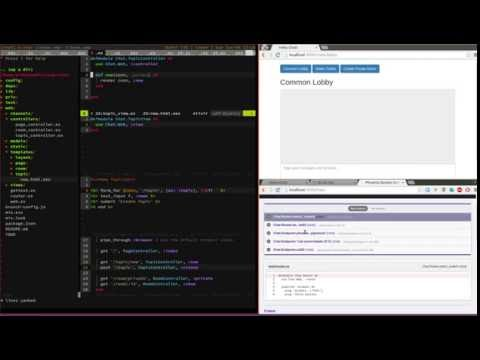 Build a chat application in Phoenix - Add Topics - Part 3