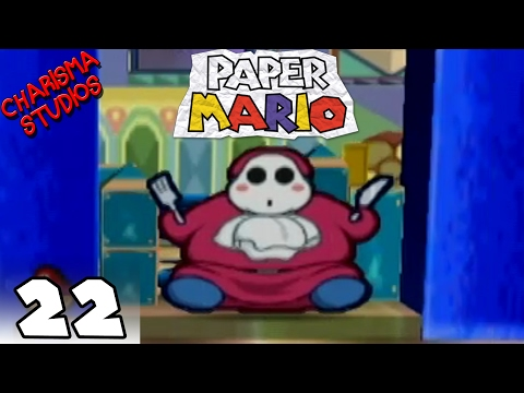 Paper Mario - Chapter 4  Part 22 Died to Power Rangers...