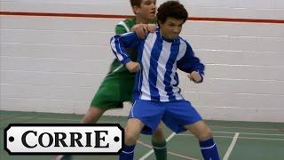 Coronation Street - Simon Knocks Out His School Friend