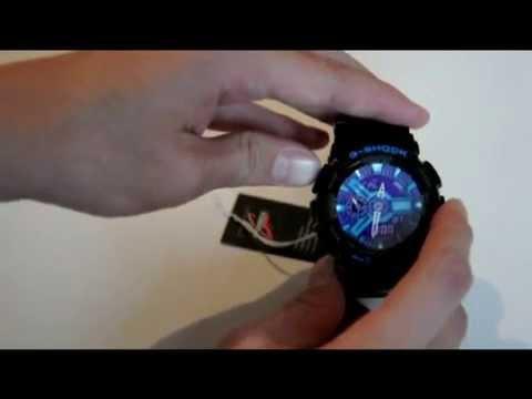 Как настроить часы g shock ga 110hc