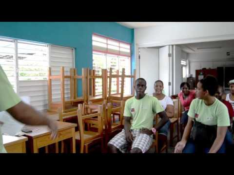 """""""I will be the change"""" - Dillon, St Vincent & the Grenadines"""
